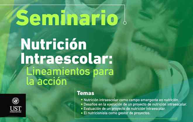 Seminario abordará importancia de la nutrición intraescolar en Concepción