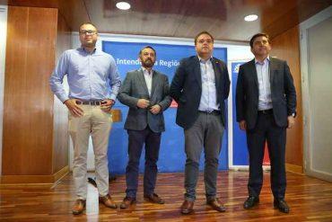 Intendente Giacaman y representantes de Globalvía se reúnen para analizar rebajas de tarifas en la Ruta del Itata