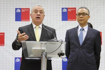 Ministro de Salud se reúne con embajador de la República Popular China por brote de coronavirus en ese país