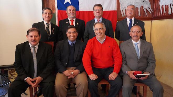 Cerca de 270 veteranos de conflicto de 1978 con Argentina fueron condecorados por el senador Chahuán