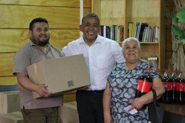 Alcalde de Collipulli entregó más de 900 cajas de alimentos para familias vulnerables de la comuna