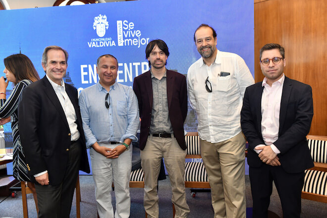 Decano Facultad de Derecho y Gobierno estuvo en charla sobre proceso constituyente en Valdivia