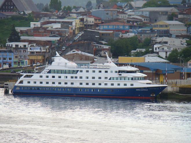 Castro entre los top ten mundial en cuanto a recaladas de cruceros