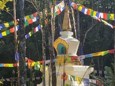 Inauguran Estupa Budista más Austral de Chile