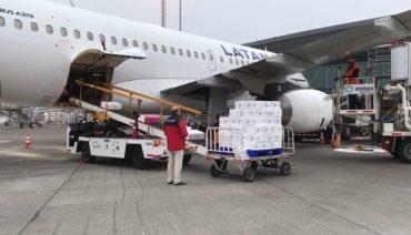 Embarque de salmones de planta de Tomé salió directo en vuelo Concepción–Lima