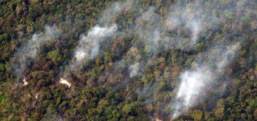 Brigada sufrió violento ataque mientras combatía incendio en la provincia de Arauco
