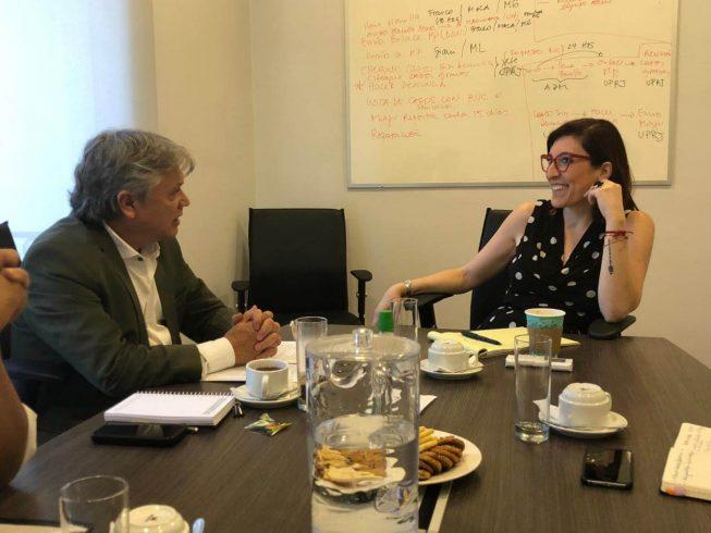 """Navarro tras reunión con defensora Muñoz: """"Encubrimiento de abusos a niños por parte de la Iglesia debe terminar ya"""""""