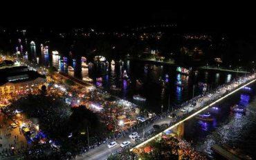100 años cumple tradicional Noche Valdiviana: se espera que más de 250 mil personas asistan al evento