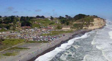 Puerto Saavedra se repleta en año nuevo y confirma la tendencia de ser destino obligado este verano 2020