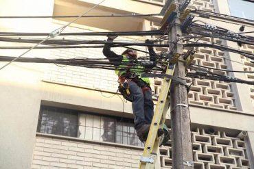 Se retiraron 25 mil metros de cables en desuso en la Región del Biobío en 2019