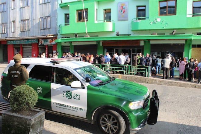 Roban en dependencias de la Municipalidad de Castro