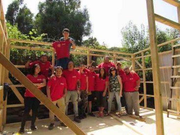 Estudiantes de Santo Tomas de Valdivia y Temuco realizan voluntariado de verano