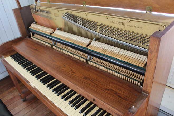 Piano llegó a Panguipulli donado por la FundaciónNotes for Growth