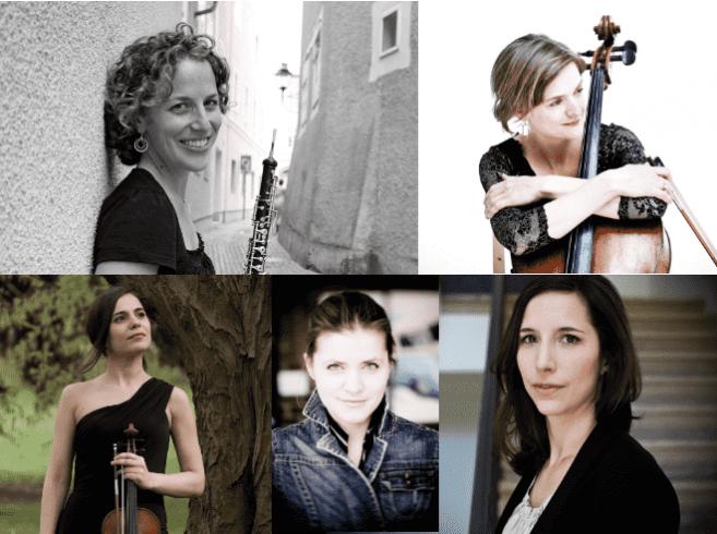 Cinco destacadas mujeres europeas protagonizan concierto de música de cámara en Teatro del Lago