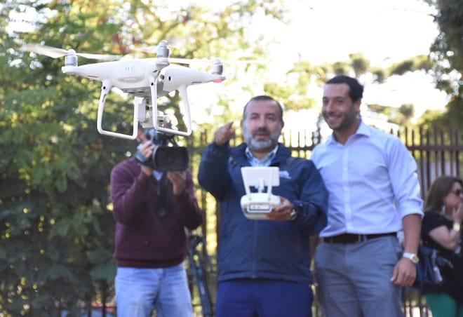 Sence Biobío lanzó el primer curso de conducción de dron en el país