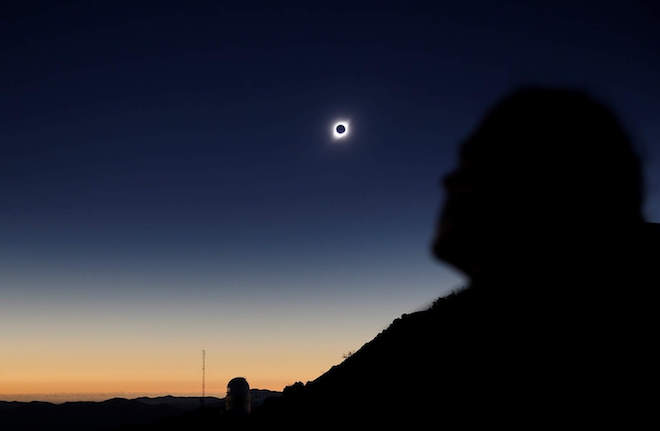 En la Región de Los Ríos se dio inicio a la cuenta regresiva para el Eclipse Solar 2020