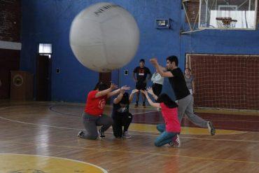 Invitan a primer campeonato de Kin-Ball en Puerto Aysén