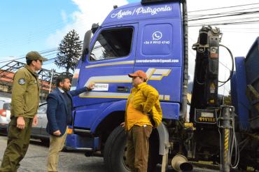 El 23 de marzo entra en vigencia nueva disposición legal que identifica patentes de camiones