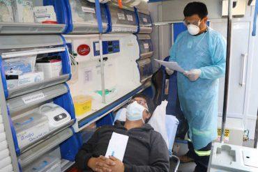 Realizan simulacro por caso sospechoso de coronavirus en paso Samoré