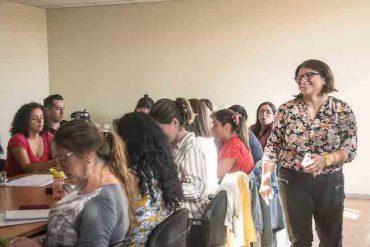 Santo Tomás Concepción capacita a sus nuevos docentes