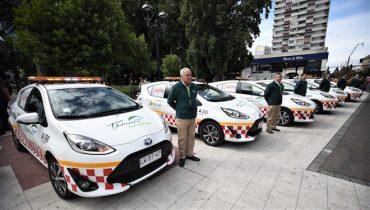 Con nuevos vehículos híbridos municipio de temuco realizará patrullaje móvil preventivo