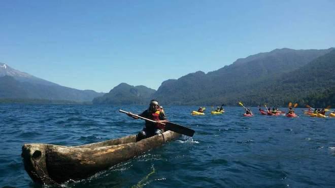 Invitan a 10ª versión de la Navegación Ancestral en Kayak y Wampo por el Río Humedal Cua Cua