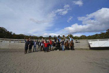 Municipio de Río Verde capacita a trabajadores de campo en Rienda y Manejo de Caballos