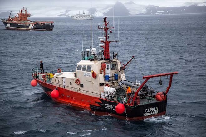 """""""Karpuj"""" completó 6.300 millas náuticas en Antártica al servicio de la ciencia nacional"""