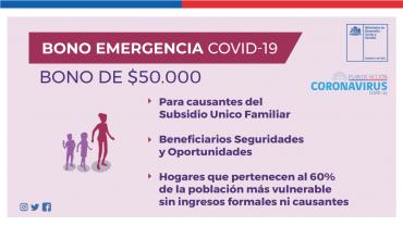 Aprobado por el senado el bono de emergencia covid-19: apoyará a cerca de 1.6 millones de familias