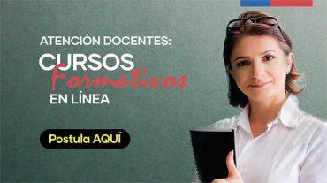 Mineduc abre postulaciones para cursos formativos gratuitos a distancia para profesores y educadores