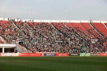 COVID-19: partidos de fútbol se jugarán sin público en Chile