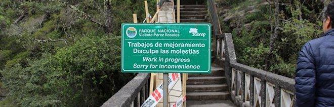 Invertirán 288 millones 600 mil pesos en remodelación de sendero de Saltos del río Petrohué