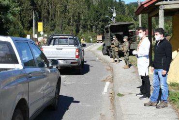 Principales accesos a Valdivia contarán con controles preventivos de salud