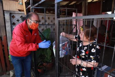 Alcalde de Collipulli entregará más de 500 kits sanitarios para adultos mayores vulnerables de la comuna