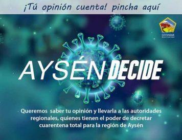 Municipalidad de Coyhaique lanza encuesta para conocer opiniones por cuarentena regional