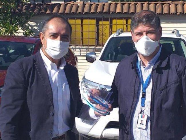 Cámara de Comercio de Temuco donó 500 escudos faciales al personal del Hospital Hernán Henríquez