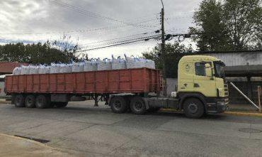Municipalidad de Paillaco recibió donación de más de 50.000 kilos de papas y 20 vacunos