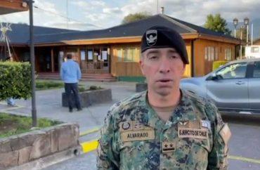 Tras requerimiento de alcalde ejército inicia fiscalizaciones nocturnas y presencia permanente en Futrono