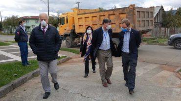 Subsecretario de Redes Asistenciales se reunió con compañeros de trabajo de funcionaria fallecida por COVID-19 en La Araucanía