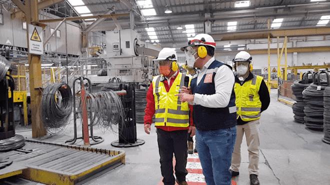 Seremi de Economía visitó Inchalam para monitorear el desarrollo de la actividad productiva