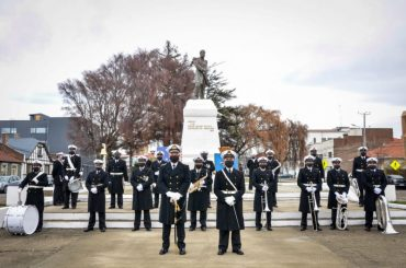 En Punta Arenas se conmemoraron los 141 años de las Glorias Navales