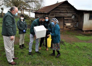 Municipio de Temuco entrega ayudas sociales a adultos mayores de la comuna
