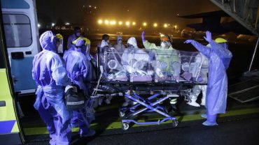 Exitoso primer traslado aeromédico de pacientes COVID-19 entre Santiago y Concepción