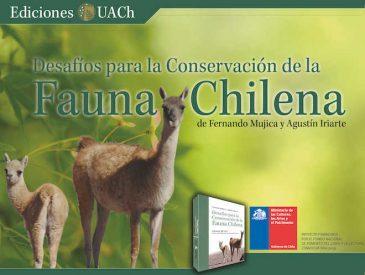Libro sobre fauna chilena expone los desafíos para su conservación