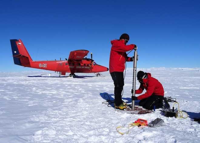 Cambio climático en la Antártica: miden condiciones climatológicas en glaciar durante los últimos 35 años
