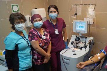 Hospital de Osorno concreta primera donación de plasma de paciente recuperado de COVID-19