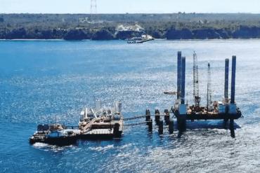 Trabajadores foráneos de obras del viaducto sobre el canal de Chacao deberán someterse a cuarentena obligatoria
