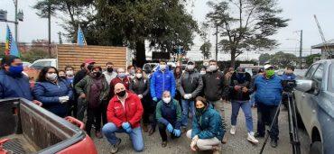 Comunidades mapuche de Freire y Vilcún donan más de 10 mil kilos de alimentos para ollas comunes de Temuco