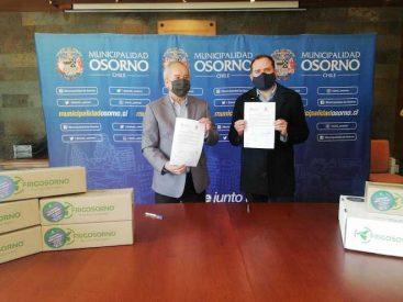 Más de 900 kilos de hamburguesas serán entregados a comedores comunitarios en Osorno