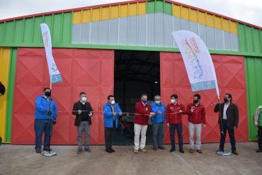 En Lanco inauguraron moderno Centro de Gestión de Reciclaje